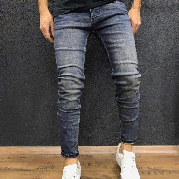 Blugi Denim Barbati Slimfit Fashion